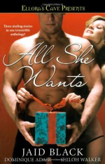 All She Wants - Jaid Black, Dominique Adair, Shiloh Walker