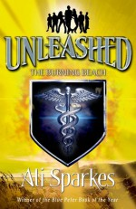 The Burning Beach (Unleashed #5) - Ali Sparkes