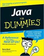 Java for Dummies [With CDROM] - Barry Burd