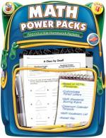 Math Power Packs, Grade 4: Reproducible Homework Packets - Frank Schaffer Publications, Frank Schaffer Publications