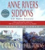 Anne Rivers Siddons CD Audio Treasury (Colony / Hill Towns) - Anne Rivers Siddons, Judith Ivey, Marcia Gay Harden