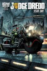 Judge Dredd Year One #1 - Matt Smith, Simon Coleby, Greg Staples