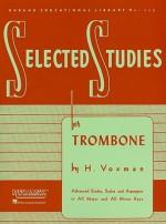 Selected Studies: Trombone (Rubank Educational Library) - H. Voxman