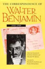 The Correspondence of Walter Benjamin 1910-1940 - Walter Benjamin, Gershom Scholem, Theodor W. Adorno, Manfred R. Jacobson, Evelyn M. Jacobson