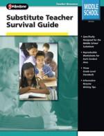 Substitute Teacher Survival Guide, Grades 6 - 8 - Frank Schaffer Publications, Frank Schaffer Publications