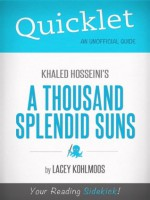 Quicklet on Khaled Hosseini's A Thousand Splendid Suns (CliffNotes-like Summary) - Lacey Kohlmoos