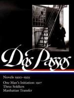 Novels, 1920-1925 - John Dos Passos, Townsend Ludington