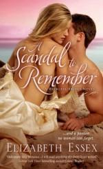 A Scandal to Remember - Elizabeth Essex