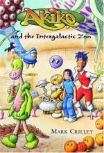Akiko and the Intergalactic Zoo - Mark Crilley