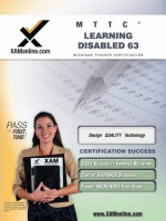 MTTC Learning Disabled 63 Teacher Certification Test Prep Study Guide - Sharon Wynne