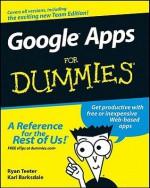 Google Apps for Dummies - Ryan Teeter, Karl Barksdale