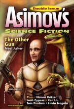 Asimov's Science Fiction Magazine - Sheila Williams, Joel Richards, Alan Wall, Tom Purdom, Linda Nagata, Karl Bunker, Naomi Kritzer, Ken Liu, Leah Cypess, Colin P. Davies, Neal Asher