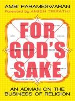 For God's Sake: An Adman on the Business of Religion - Ambi Parameswaran, Amish Tripathi