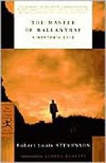 The Master of Ballantrae: A Winter's Tale - Robert Louis Stevenson, Andrea Barrett