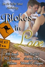 Blokes in Love (An Oz MM Meet Anthology) - A.B. Gayle, N.J. Nielsen, Pelaam, Jess Buffett, Meredith Shayne, Susan Beck