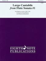 Largo Cantabile from Flute Sonata #1 - Jean-Baptiste Loeillet, David Marlatt