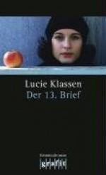 Der 13. Brief - Lucie Klassen, Lucie Flebbe