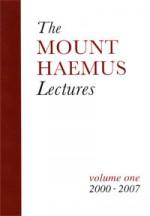 The Mount Haemus Lectures: Volume One (2000-2007) - Ronald Hutton, Gordon Cooper, John Michael Greer, Caitlín Matthews, Adam Stout, Roland Rotherham, Philip Carr-Gomm, James Warren Maertens