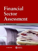 Financial Sector Assessment: A Handbook - World Bank Group, World Bank Group