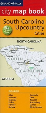 South Carolina Up Country City Map - Rand McNally