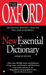 The Oxford New Essential Dictionary - Oxford University Press, Oxford University Press