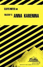 Anna Karenina (Cliffs Notes) - Leo Tolstoy, Marianne Sturman, CliffsNotes