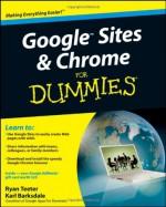 Google Sites & Chrome for Dummies - Ryan Teeter, Karl Barksdale