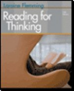 Reading for Thinking 6th Edition Plus Getting Focus CDROM - Hans-Curt Flemming