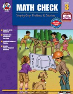 Math Check, Grade 3: Step-by-Step Problems & Solutions - Frank Schaffer Publications, Frank Schaffer Publications