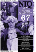 New Theatre Quarterly 67: Volume 17, Part 3 - Clive Barker, Simon Trussler