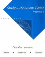 Study and Solutions Guide for Calculus Volume 2 - David E. Heyd