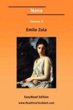Nana Volume II [Easyread Edition] - Émile Zola