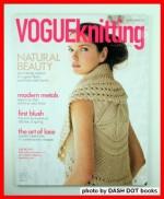 Vogue Knitting International magazine Spring/Summer 2009 (Vogueknitting, Natural Beauty, The art of lace, Botanica Medallion cardi,) - Trisha Malcolm