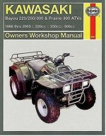 Kawasaki Bayou 220/250/300 & Prairie 300 ATVs: 1986-2003 (Owners' Workshop Manual) - Alan Ahlstrand, Alan Ahlstrand