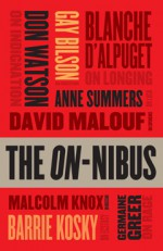 On-Nibus - Germaine Greer, David Malouf, Anne Summers, Blanche d'Alpuget, Barrie Kosky, Don Watson, Gay Bilson, Malcolm Knox