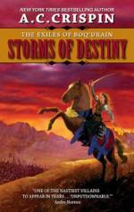 Storms of Destiny: The Exiles of Boq'urain - A.C. Crispin