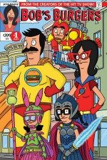 Bob's Burgers Ongoing #1: Digital Exclusive Edition - Rachel Hastings, Justin Hook, Mike Olsen, Jeff Drake, Ben Dickerson, Brian Hall, Mark Von Der Heide, Adam Beechen, JC McNamee, Frank Forte, Steven Theis, Tom Riggin, Mario D'Anna, Adam Phillips, Hector Reynoso, Anthony Aguinaldo