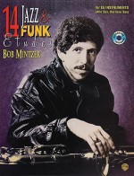 14 Jazz & Funk Etudes [With CD] - Bob Mintzer