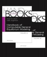 Handbook of Cge Modeling Set - Peter B. Dixon, Dale Jorgenson