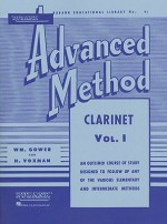 Rubank Advanced Method - Clarinet Vol. 1 - Voxman Himie, William Gowe, Voxman Himie