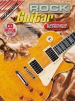 Rock Guitar Technique Bk/CD: For Beginning Rock Guitarists - Brett Duncan