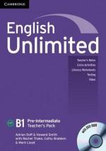 English Unlimited Pre-Intermediate Teacher's Pack (Teacher's Book with DVD-ROM) - Adrian Doff, Howard Smith, Mark Lloyd, Rachel Thake, Cathy Brabben