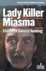 Lady Killer/Miasma - Elisabeth Sanxay Holding