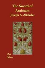 The Sword of Antietam - Joseph Alexander Altsheler