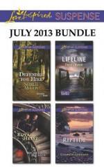Love Inspired Suspense July 2013 Bundle: Defender for HireRoyal HeistLifelineRiptide (Heroes for Hire) - Shirlee McCoy, Rachelle McCalla, Christy Barritt, Elizabeth Goddard