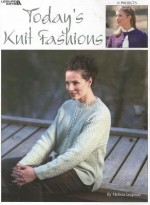 Today's Knit Fashions - Melissa Leapman, Leisure Arts