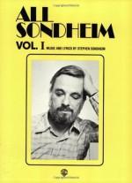 All Sondheim, Volume 1 - Stephen Sondheim, Sy Feldman