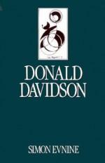 Donald Davidson - Simon Evnine
