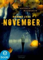 Niemand liebt November - Antonia Michaelis, Kathrin Schüler