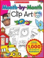 CLIP ART: Month-by-Month Clip Art Book - NOT A BOOK